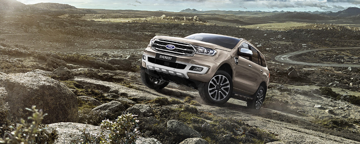2016 Ford Everest